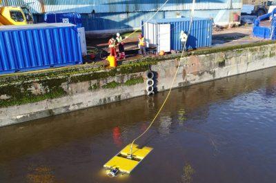 ROV Launch